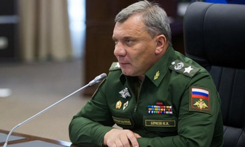 نائب رئيس الوزراء الروسي يوري بوريسوف (موقع وزارة الدفاع الروسية)