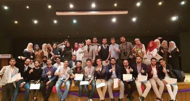 """فريق طلاب جامعة اسطنبول ضمن ملتقى """"جامعجي"""" 2017 (صفحة فريق جامعة اسطنبول في فيس بوك)"""