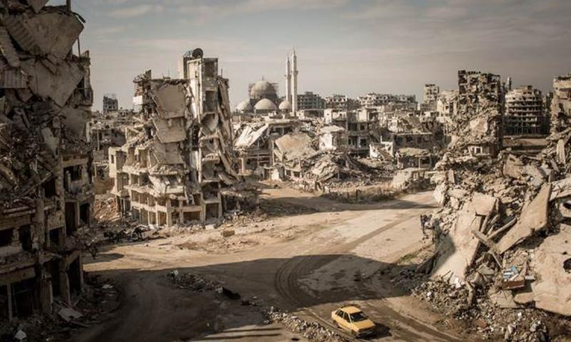 حي الخالدية في حمص (ناشيونال جيوغيرافيك)