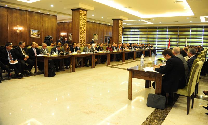 اجتماعات اللجنة المشتركة السورية الروسية في دمشق- 12 كانون الأول 2018 (سانا)