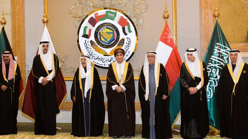 القمة الخليجية 38 في الكويت 21 كانون الأول 2017المصدر (الجزيرة نت)