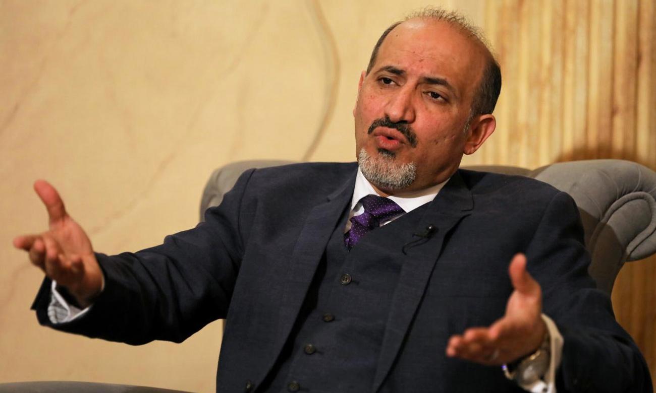 رئيس الائتلاف السوري الأسبق أحمد الجربا (رويترز)