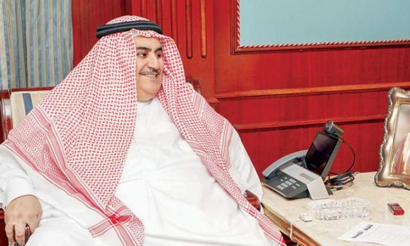 وزير الخارجية البحريني، خالد بن أحمد (تويتر خالد بن أحمد)