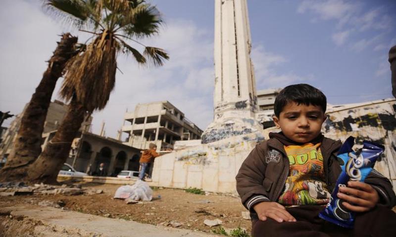واقع الأطفال في سوريا - 13 من كانون الأول 2018 (يونيسف)