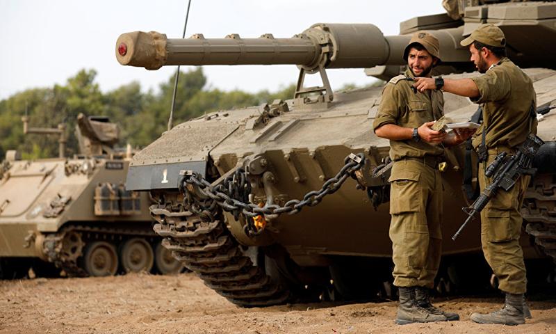 الجيش الإسرائيلي يستنفر قواته على الحدود اللبنانية (رويترز)
