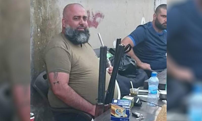 """يحيى يوسف اسماعيل أحد مقاتلي """"قوات النمر"""" (QalaatAlMudiq)"""