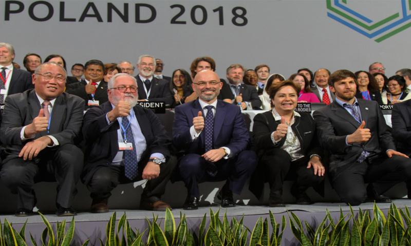 الجلسة الختامية لمؤتمر الأمم المتحدة للمناخ في كاتوفيتسا في بولندا - 16 كانون الأول 2018 (موقع الأمم المتحدة)