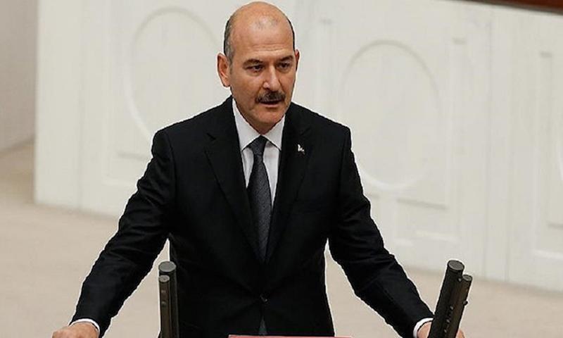 وزير الداخلية التركي-سليمان صويلو 17 من كانون الأول 2018 (صحيفة يني شفق التركية)