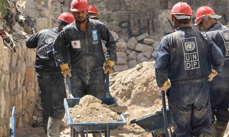 أعمال ترميم بحلب القديمة تدعمها اليابان- 20 تشرين الثاني (السفارة اليابانية بدمشق)