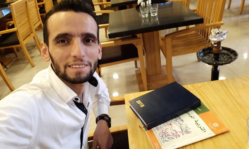 """مدير شبكة """"دمشق الآن"""" المحلية، وسام الطير (صفحة وسام الطير فيس بوك)"""