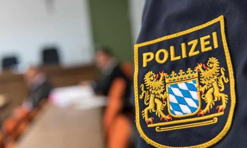 الشرطة في أحد المحاكم الألمانية (موقع WD)
