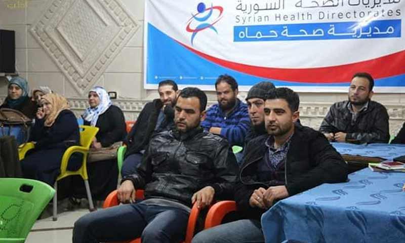 المعهد الصحي لتأهيل العاملين في المجال الصحي بمدينة كفرنبل جنوبي إدلب 5 كانون الأول 2018 (بوابة إدلب)