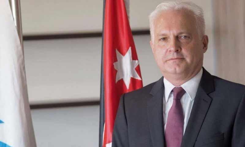 ممثل مفوضية اللاجئين التابعة للأمم المتحدة في الأردن، ستيفانو سيفير (Jordan News)