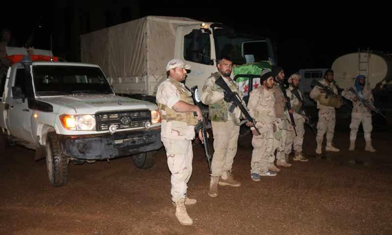 جيش مغاوير الثورة في منطقة التنف غربي سوريا (موقع المغاوير في تويتر)