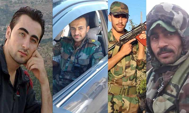 قتلى لقوات الأسد بينهم ضباط على جبهة المصاصنة شمالي حماة 19 كانون الأول 2018 (الشبكات المحلية وتعديل عنب بلدي)