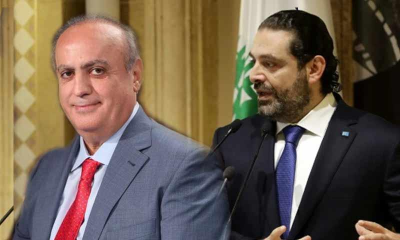 رئيس الحكومة اللبنانية سعد الحريري والنائب اللبناني وئام وهاب (تعديل عنب بلدي)