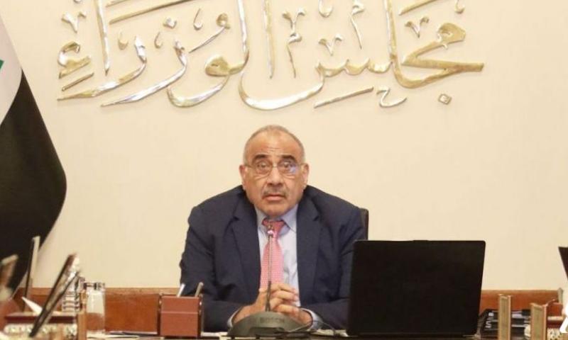رئيس مجلس الوزراء العراقي، عادل عبد المهدي (واع)