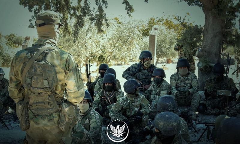 تخريج قوات خاصة تابعة للجبهة الوطنية للتحرير في إدلب - (الجبهة الوطنية)