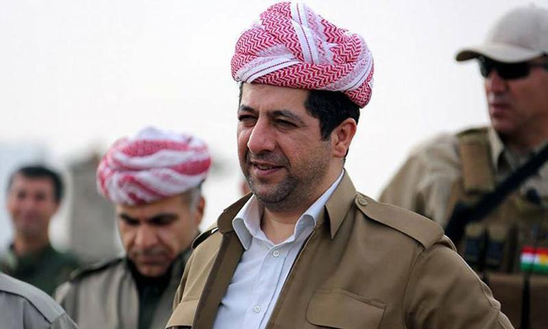 مستشار مجلس أمن اقليم كوردستان مسرور بارزاني - (كردستان 24)