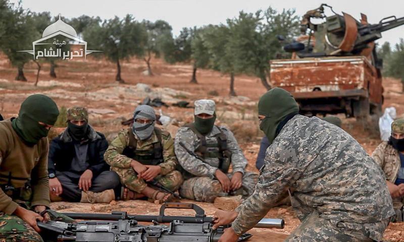 تخريج دفعة من مقاتلي تحرير الشام في ريف إدلب - تشرين الثاني 2018 (تحرير الشام)