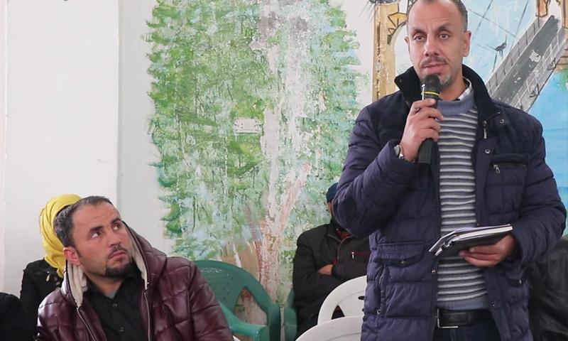 مروان الفتيح الرئيس المشترك للمجلس التشريعي بديرالزور - (المركز الإعلامي بدير الزور)