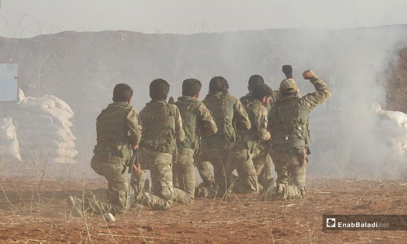 تخريج دورة جديدة من الجيش السوري الوطني في ريف حلب الشمالي - 14 من تشرين الأول 2018 (عنب بلدي)