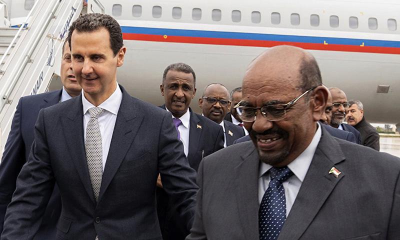 زيارة الرئيس السوداني عمر البشير إلى دمشق- 16 كانون الأول 2018 (سانا)
