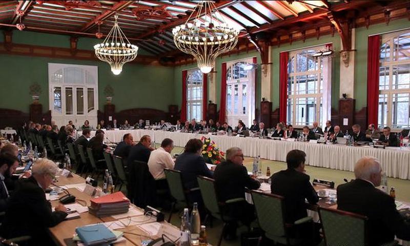 اجتماع وزراء داخلية الولايات الألمانية- 30 تشرين الثاني 2018 (DPA)