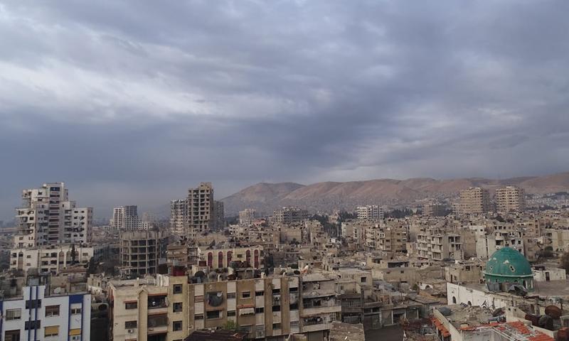 حي القابون في الجزء الشرقي من دمشق- تشرين الثاني 2018 (fadi serfi)