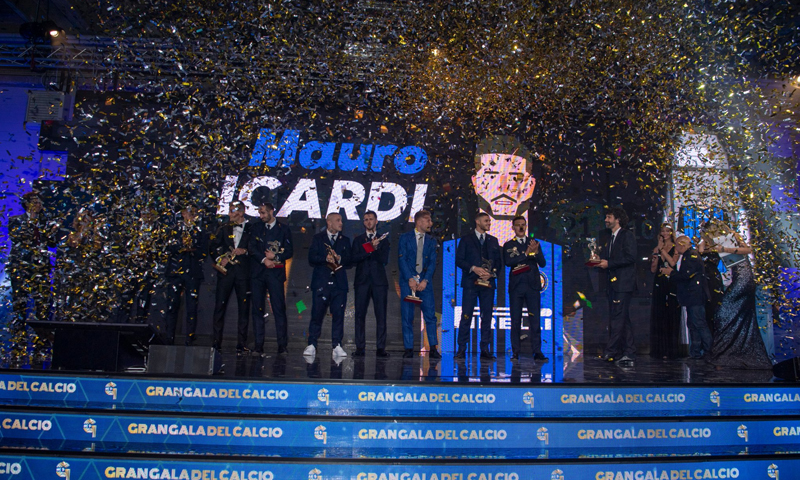 حفل توزيع جوائز الدوري الإيطالي-3 من كانون الأول 2018 (inter)