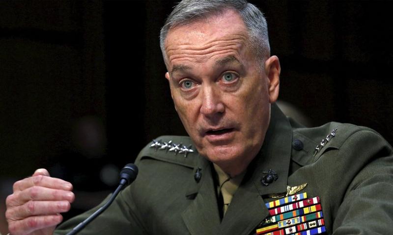 رئيس هيئة الأركان المشتركة للقوات الأمريكية، جوزيف دانفور (سبوتنيك)