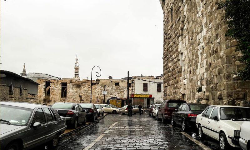 دمشق القديمة (فيس بوك عدسة شاب دمشقي)