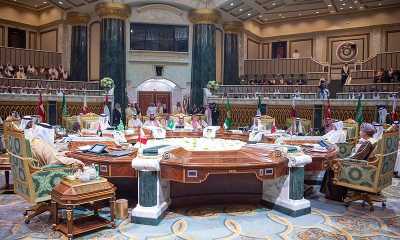 قمة دول مجلس التعاون الخليجي- الأحد 9 من كانون الأول 2018 (وزارة الخارجية السعودية)