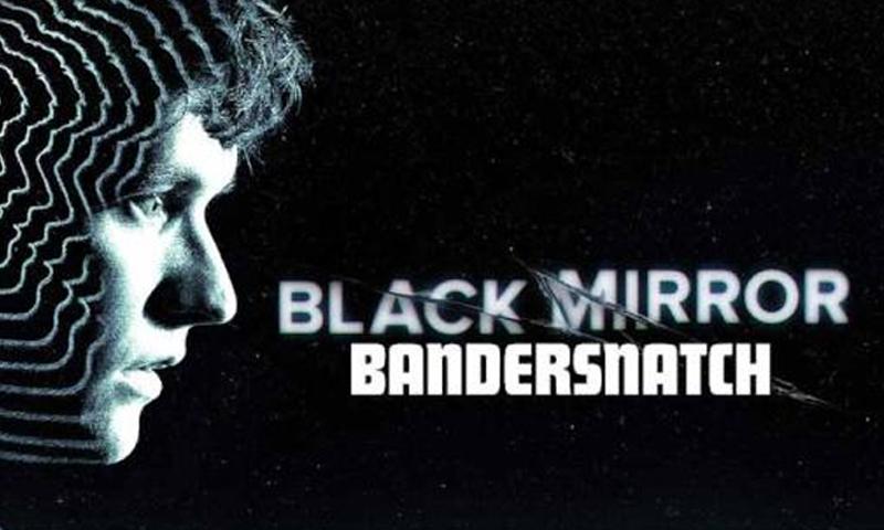 """غلاف مسلسل """"Black Mirror"""" من إنتاج شبكة """"Netflix""""."""
