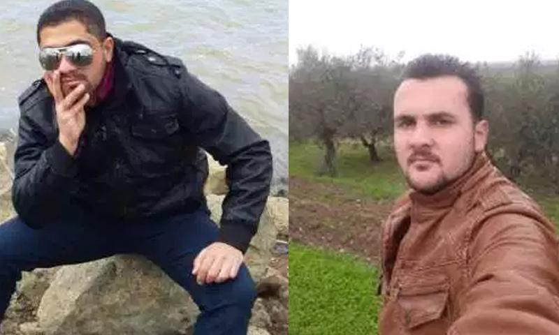 مالك بكر الحاج علي ومحمد علي الدريبي - (مكتب توقيق الشهداء في درعا)