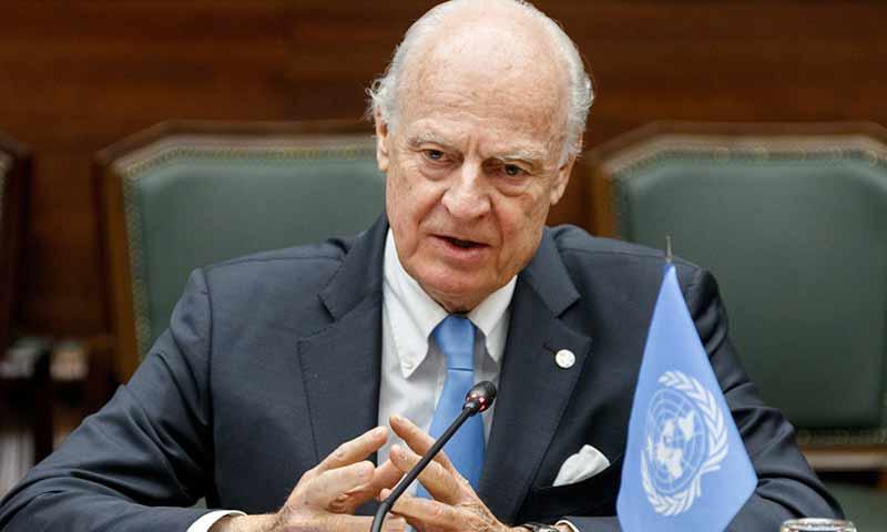 مبعوث الأمم المتحدة إلى سوريا ستيفان دي ميستورا (تاس)