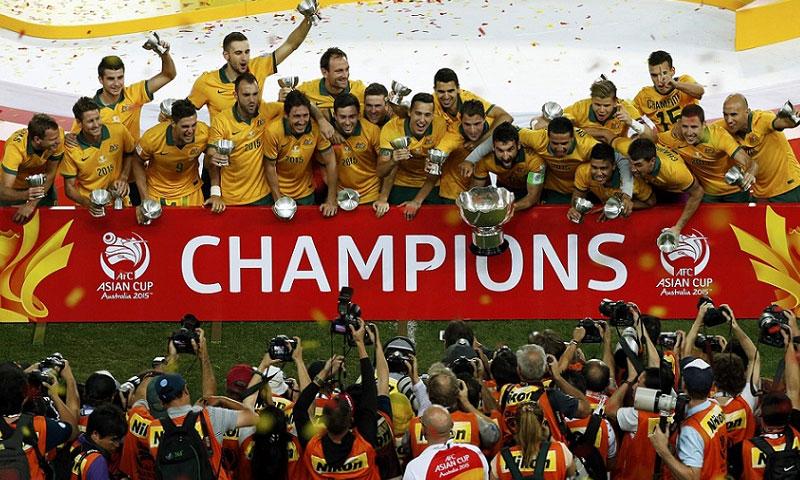 منتخب أستراليا يتوج ببطولة كأس أمم آسيا 2015 (AFC)