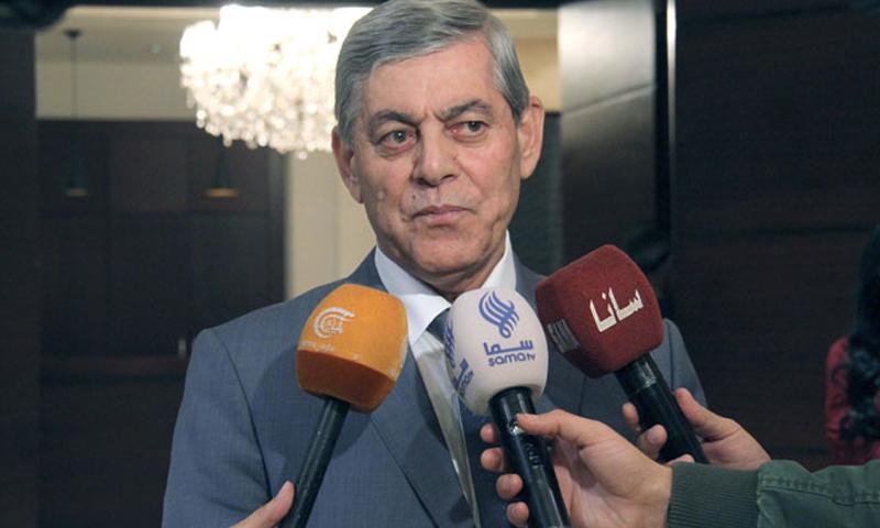 اللواء موفق جمعة، رئيس الاتحاد الرياضي العام واللجنة الأولمبية السورية (سانا)