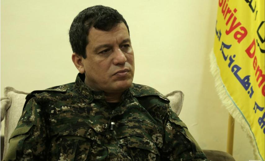 القائد العام لقسد مظلوم كوباني - (رويترز)