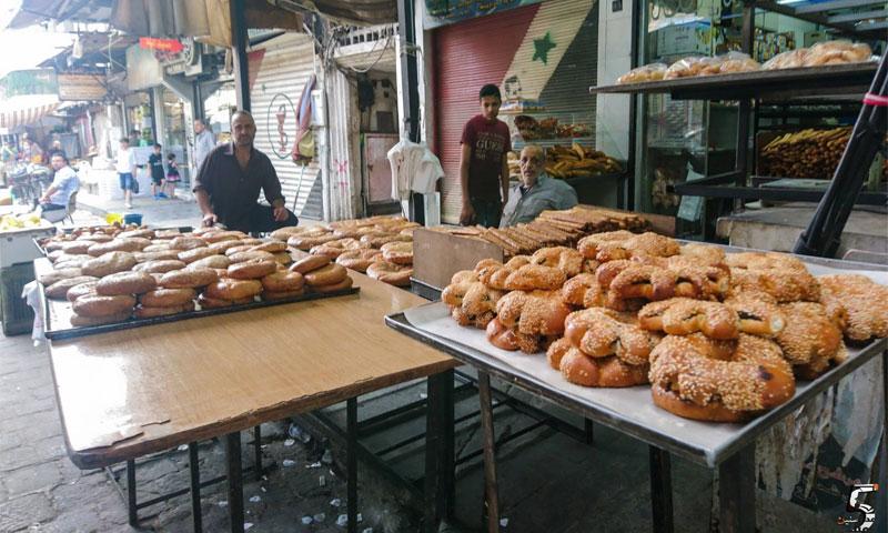 مخبز صمون وكعك بدمشق (عدسة شاب دمشقي في فيس بوك)
