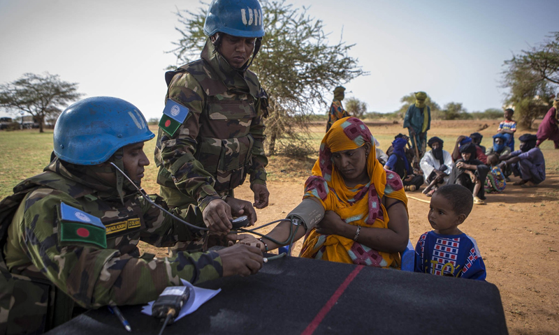 المساعدات الإنسانية إلى دول وسط القارة الإفريقية- 12 تموز 2017 (UN)
