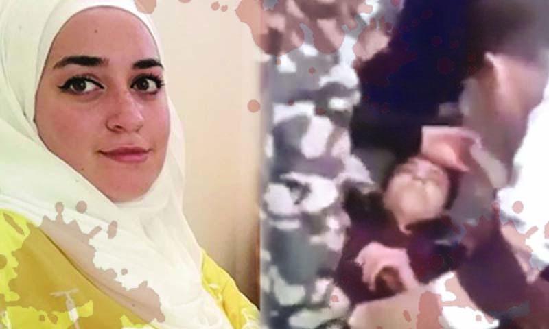 الطفل السوري المعتدى عليه والطالبة غنى أبو صالح (تعديل عنب بلدي)