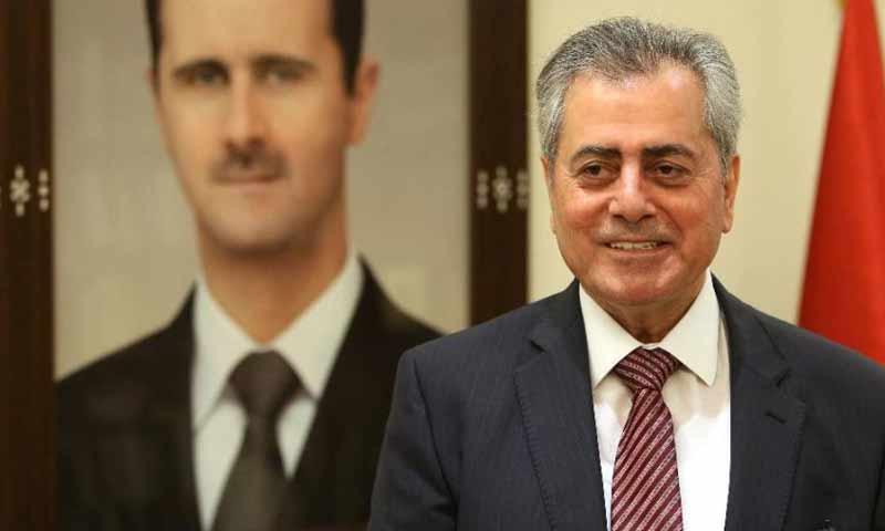 سفير النظام السوري في لبنان علي عبد الكريم علي- 26 أيار 2014 ( أسوشيتد برس)