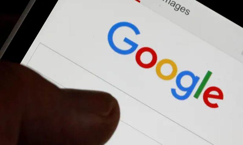 """صورة توضيحية لمحرك البحث """"جوجل"""" 21 من كانون الثاني 2019 (ذا غريديان)"""