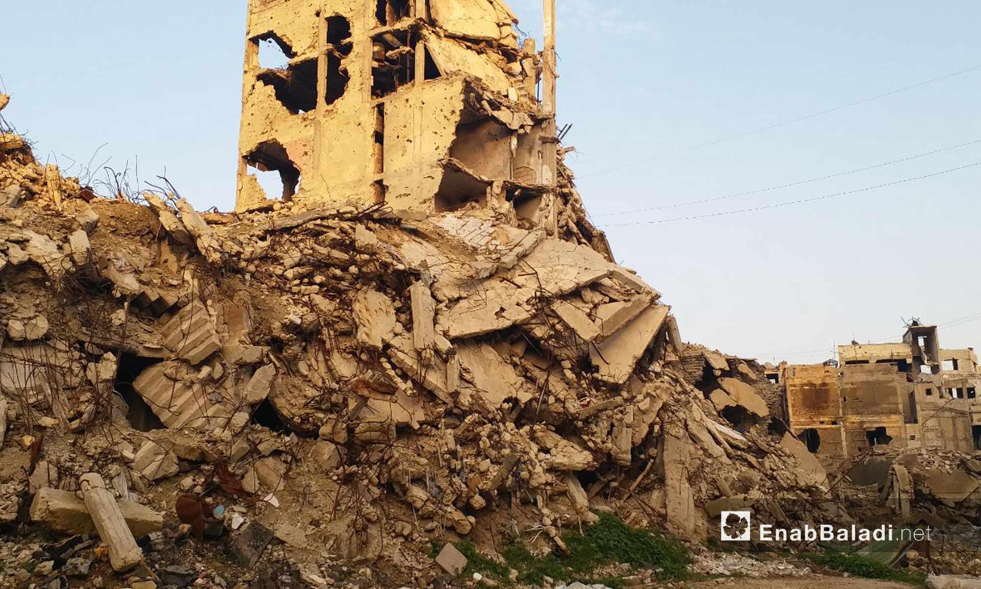 الأحياء القديمة في مدينة حمص - 24 من كانون الثاني 2019 (عنب بلدي)