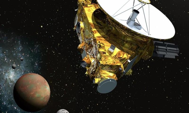 """المسبار """"نيو هورايزونز"""" التي أطلقته """"ناسا"""" 1 من كانون الثاني 2019 (NASA)"""