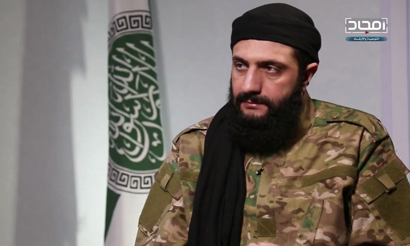 أبو محمد الجولاني قائد هيئة تحرير الشام في حوار مرئي - 14 من كانون الثاني 2019 (أمجاد)