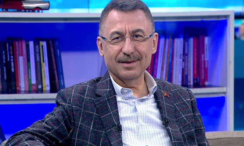 نائب الرئيس التركي فؤاد أوكتاي 20 من كانون الثاني 2018 (CNN)