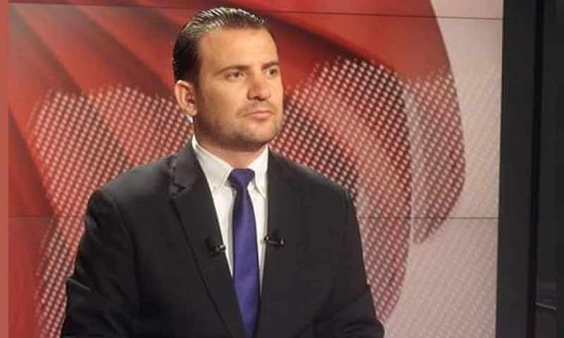 مراسل ومذيع الاخبارية السورية صفوان علي (الاخبارية السورية)
