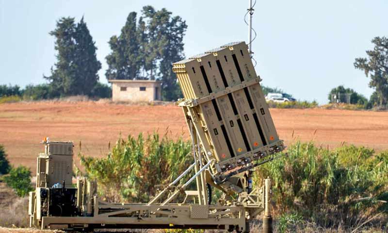 منظومة القبة الحديدية ضمن الاراضي الاسرائيلية -(موقع كان)